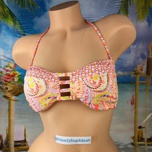 ! Victoria's Secret bandeau swim bikini top